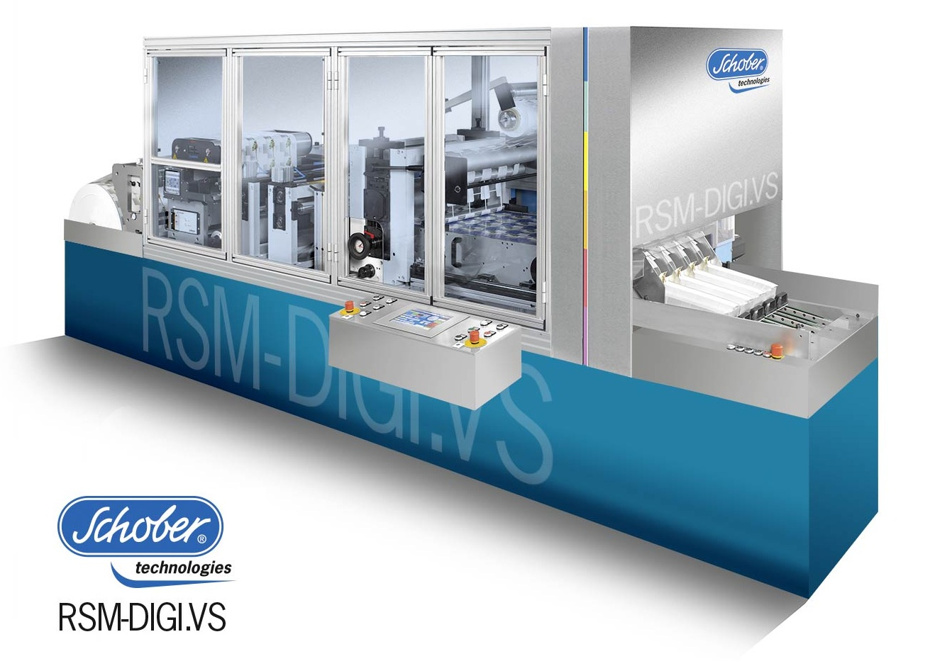 Schober technologies introduces the RSM-DIGI.VS, especially designed to convert digitally printed film and foil