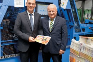 Müller Martini Flexiliner at SKN in Germany has inserted 150 Million Products in 2 Years